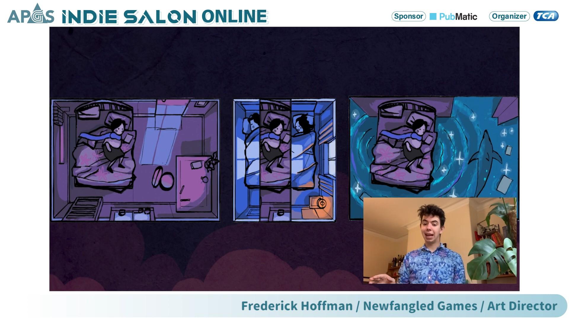 圖片03:英國Newfangled Games線上演講